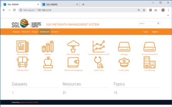 IGiS Meta Data System