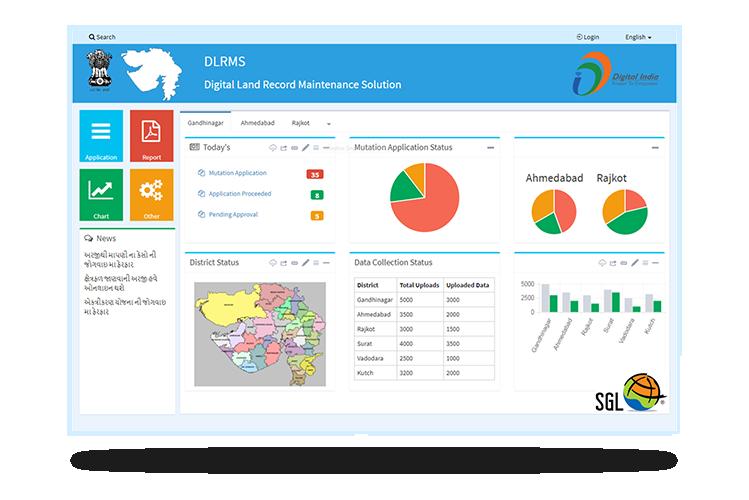 GIS enabled e Governance portal