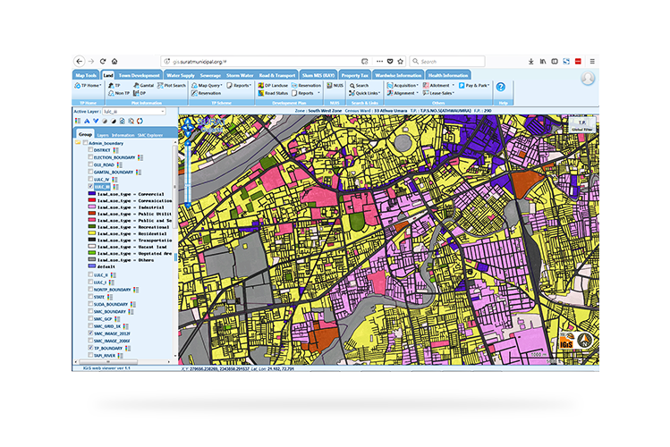 Urban Information System (UIS) Applications